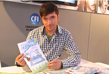 Chanti en al Feria del Libro Buenos Aires