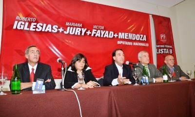 El Partido Federal denunció penalmente a Iglesias