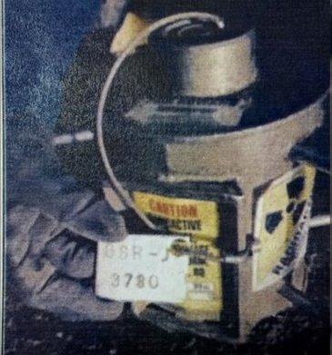 equipo radioativo